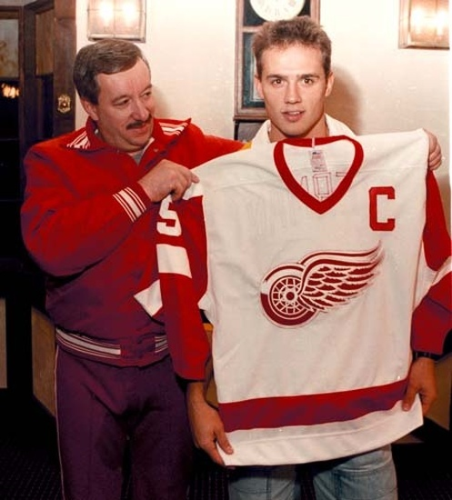 Demers made the 21-year-old Yzerman his captain shortly after becoming coach in Detroit